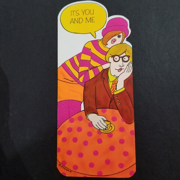 Original Humoresk Buzza Cardozo Skoczen Card